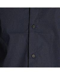Armani Exchange - Blue Shirt Men for Men - Lyst