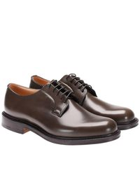 Church's - Green Shannon Derby Shoes Laced With Goodyear Processing for Men - Lyst