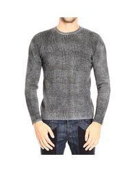 Giorgio Armani   Gray Men's Sweater for Men   Lyst