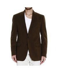 Polo Ralph Lauren | Green Blazer Brushed Twill Welt Sportcoat for Men | Lyst