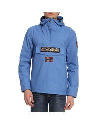 Napapijri - Blue Jacket Men for Men - Lyst