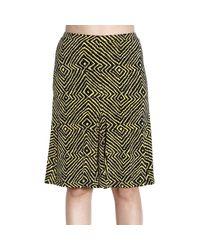MICHAEL Michael Kors | Black Skirt Pencil With Balze | Lyst