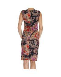 Etro | Brown Women's Dress | Lyst