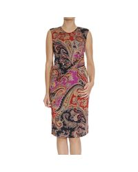 Etro | Natural Women's Dress | Lyst