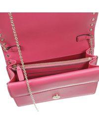 Valentino   Pink Women's Clutch   Lyst