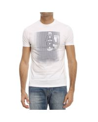 Armani Jeans - White T-shirt for Men - Lyst