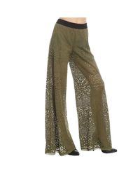 Pinko - Green Women's Trouser - Lyst