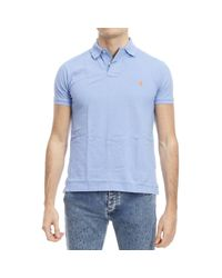 Polo Ralph Lauren - Blue T-shirt for Men - Lyst