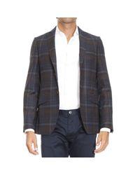 Etro   Blue Blazer Jackets Man for Men   Lyst