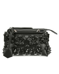 Fendi - Black Mini 'by The Way' Crossbody Bag - Lyst