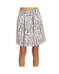 Emporio Armani | White Skirts Woman | Lyst