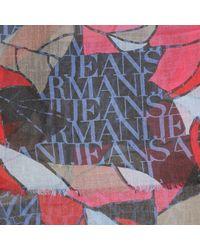 Armani Jeans - Blue Scarf Woman - Lyst