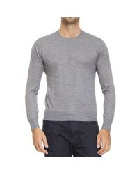 Cruciani | Gray Sweater Man for Men | Lyst