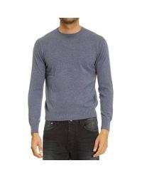 Cruciani | Blue Sweater Man for Men | Lyst