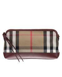 Burberry   Multicolor Clutch Handbag Women   Lyst