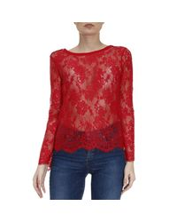 Patrizia Pepe | Red Top Women | Lyst