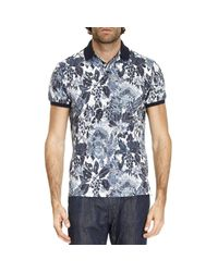 Etro | Blue T-shirt Men for Men | Lyst