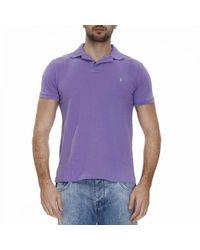 Polo Ralph Lauren | Purple T-shirt Men for Men | Lyst