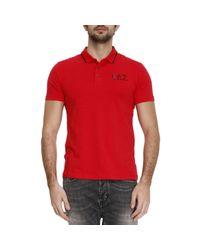 EA7 | Red T-shirt Men Ea7 for Men | Lyst