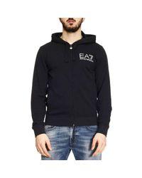 EA7   Blue Sweater Men Ea7 for Men   Lyst
