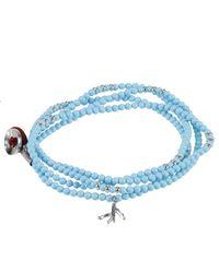 Isaia - Blue Jewel Bijoux Men for Men - Lyst