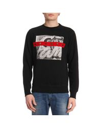 DIESEL - Black Sweater Men for Men - Lyst