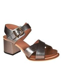 Tod's - Metallic Heeled Sandals Shoes Women - Lyst