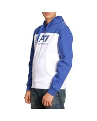 EA7 - White Sweater Men Ea7 for Men - Lyst