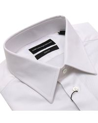 Emporio Armani - White Shirt Men for Men - Lyst