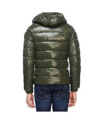 Save The Duck - Green Jacket Men for Men - Lyst