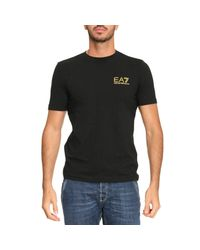 EA7 - Black T-shirt Men Ea7 for Men - Lyst