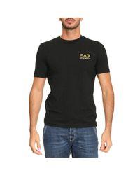 EA7 | Black T-shirt Men Ea7 for Men | Lyst