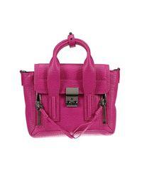 3.1 Phillip Lim | Green Pashli Mini Leather Satchel | Lyst