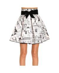 Elisabetta Franchi Black Skirt Women
