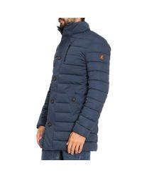 Save The Duck Blue Coat Men for men