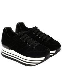 Hogan - Black Shoes Women - Lyst