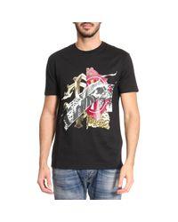 Roberto Cavalli - Black T-shirt Men for Men - Lyst