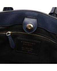 Burberry - Blue Shoulder Bag Women - Lyst