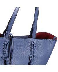 Tod's - Blue Handbag Woman - Lyst