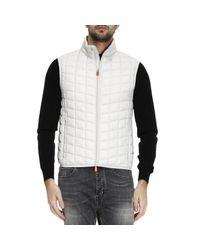 Save The Duck | Gray Suit Vest Waistcoat Men for Men | Lyst