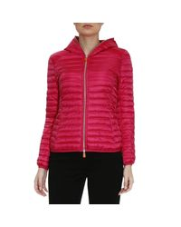 Save The Duck | Red Jacket Women | Lyst