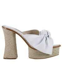 Paloma Barceló | White Wedge Shoes Women | Lyst