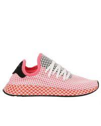 Adidas Originals Adidas deerupt Runner W zapatillas en tejer y malla