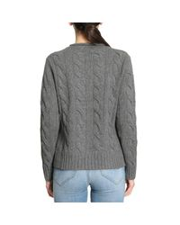 Polo Ralph Lauren - Gray Sweater Women - Lyst