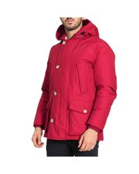 Woolrich - Red Jacket Men for Men - Lyst