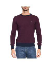 Brooksfield | Purple Sweater Men for Men | Lyst
