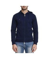 Armani Jeans - Blue Sweater Men for Men - Lyst