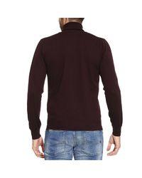 Emporio Armani - Purple Sweater Men for Men - Lyst