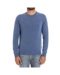 Woolrich | Blue Sweater Men for Men | Lyst