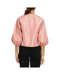 RED Valentino - Pink Blazer Women - Lyst